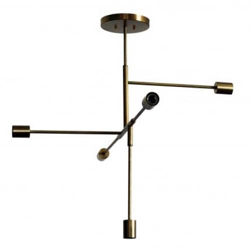Люстра Brass lamp 4877