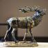 Бронзовая статуэтка - «Олень»