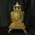 Интерьерные каминные часы из бронзы — «Владыка морей»