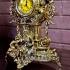 Часы каминные из бронзы — «Ампир»