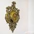 Настенные часы из бронзы — «Кариатиды»