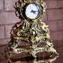 Бронзовые часы «Каминные»