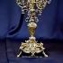 Канделябр из бронзы для 6 свечей  — «Рококо»