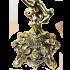 Подсвечник бронзовый для 5 свечей «Ангел»