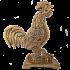 Бронзовая статуэтка «Золотой петушок»