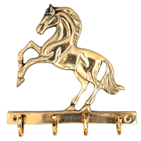 Ключница из бронзы настенная «Конь»