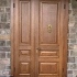 Бронзовая стукалка на входную дверь «Лев 1»  (большой)