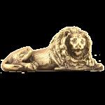 Статуэтка из бронзы  «Лев лежачий»