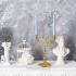 Бронзовый подсвечник для 2-х свечей «Романтика»
