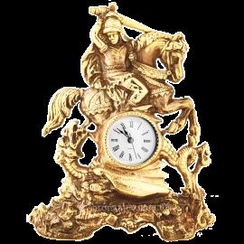 Бронзовые часы «Воин»