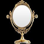 Зеркало в бронзовой раме «Овальное 3»