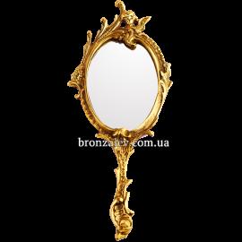 Ручное зеркало в бронзовом обрамлении «Версаль»