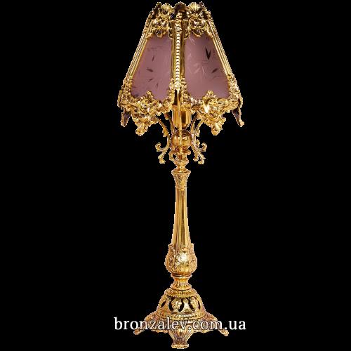 Лампа настольная, декоративная из бронзы