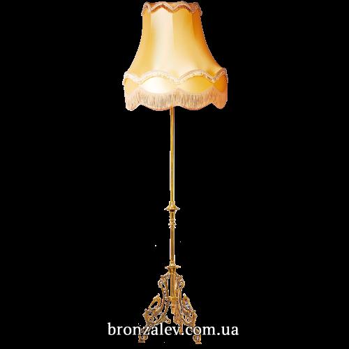 Торшер напольный из бронзы