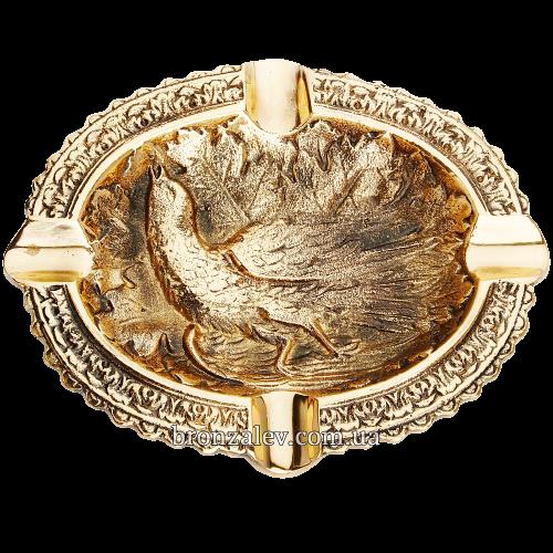 Пепельница бронзовая «Фазан»
