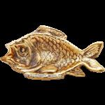Пепельница из бронзы «Рыба»