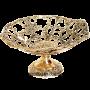 Бронзовая ваза для фруктов «Барокко» (круглая)
