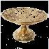 Бронзовая ваза для фруктов - «Виноград»