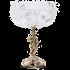 Хрустальная ваза на бронзовом основании