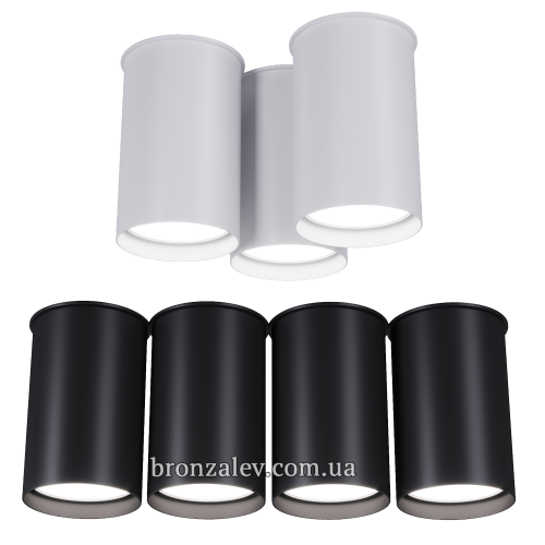 Спот BP черный и белый Pikart 2019 артикул 5430