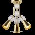 Люстра Oni-On золото, черная PikArt 2019 артикул 6079