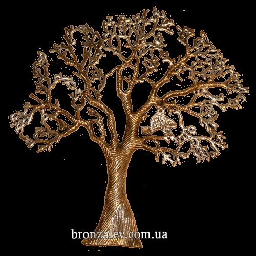 Настенный декор из бронзы - «Дерево счастья»