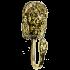 Бронзовая настенная вешалка (крючок) - «Лев»