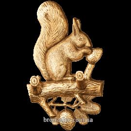 Ключница из бронзы «Белка»