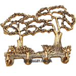 Ключница из бронзы «Два дерева»