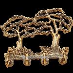 Ключница «Два дерева»