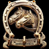 Ключница «Две лошади»