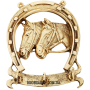 Ключница из бронзы «Подкова»