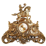 Бронзовые часы для камина