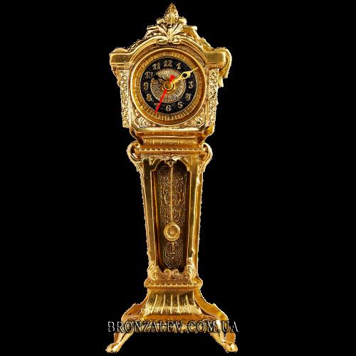 Часы настольные из бронзы «Английские»