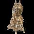 Часы «Каминные» с подсвечниками «Пламя»