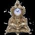 Часы «Ажурные» с подсвечниками «Пламя»