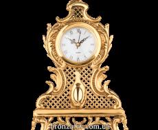 Настольные часы из бронзы