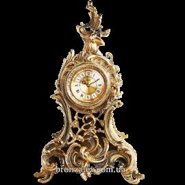 Часы каминные из бронзы «Барокко»