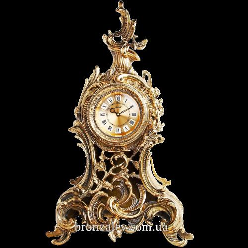 Часы каминные, бронзовые — «Барокко»