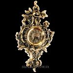 Часы настенные из бронзы «Барокко»