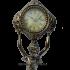Часы «Дева» с подсвечниками под 1 свечу