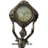 Часы из бронзы — «Дева»