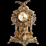 Бронзовые часы с орлом «Ампир»