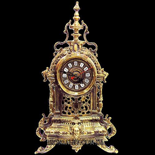 Часы каминные из бронзы «Индийская башня»
