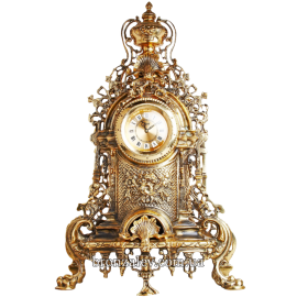 Каминные часы из бронзы «Версаль»