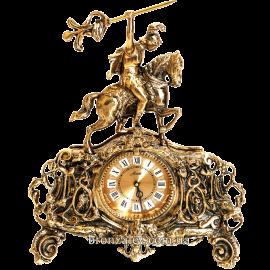 Часы бронзовые (каминные) «Легионер»
