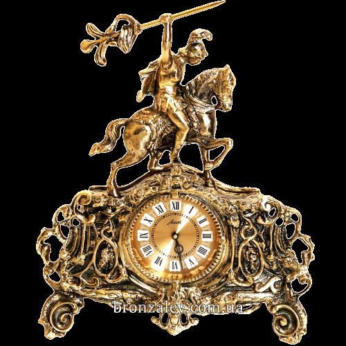 Декоративные бронзовые часы — «Легионер»