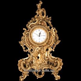 Часы из бронзы для камина «Рококо»