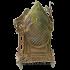 Декоративные часы из бронзы — «Старый замок»