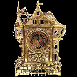 Часы из бронзы «Старый замок»
